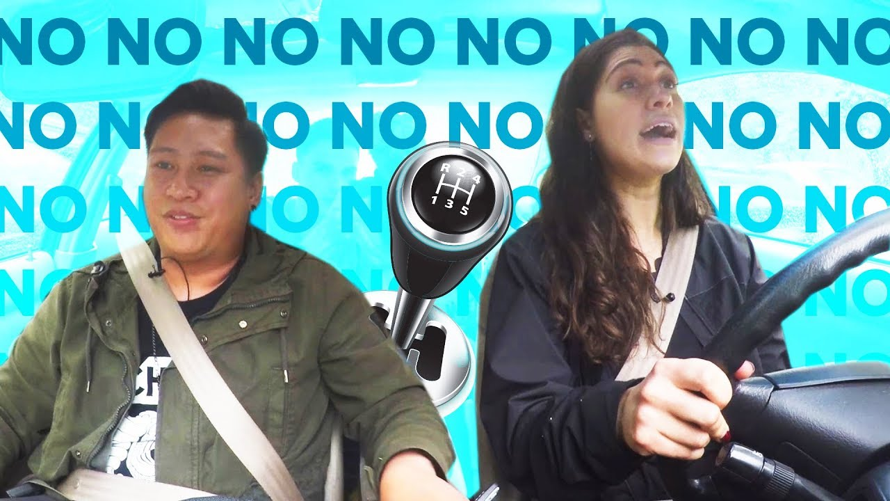 People Try Driving Stick Shift For The First Time