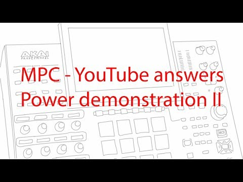 MPC - YouTube Answers - Power demonstration II