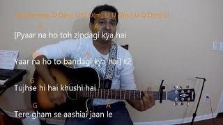Har kisi ko nahi milta guitar lesson & cover | Boss | BE-003