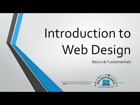 Introduction to Web Design - Fundamentals & Basics