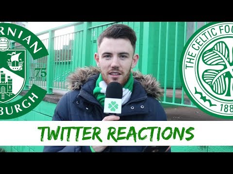Hibs 2-0 Celtic | Twitter Reactions