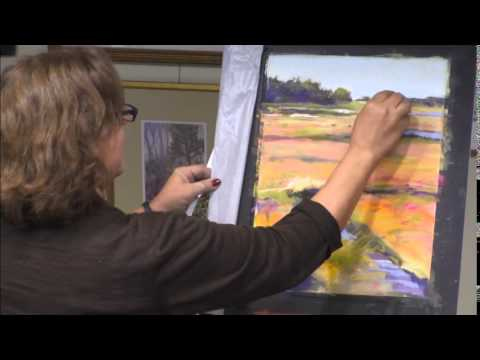 Foxboro Art Association - Pastel Demo with artist Barbara St