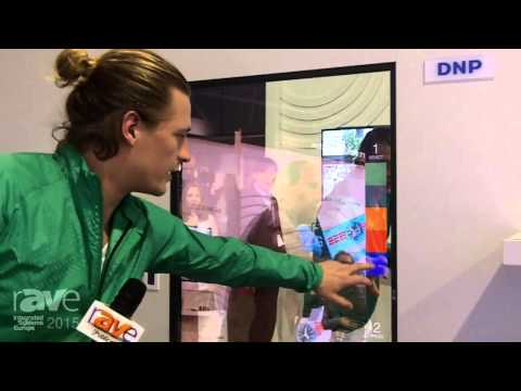 ISE 2015: LG Demonstrates Virtual Fitting Software Developed by DNP