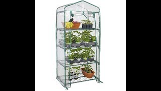 Review:  Best Choice Products 4 Tier Mini Green House