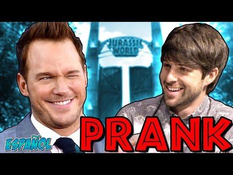 CHRIS PRATT INTERVIEW PRANK | ¡ESPAÑOL!