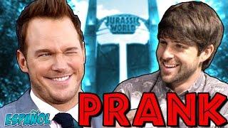 CHRIS PRATT INTERVIEW PRANK   ¡ESPAÑOL!