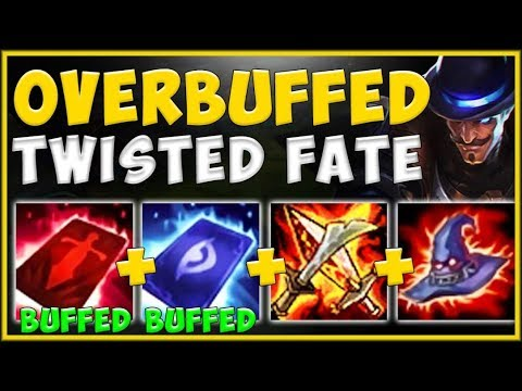 WTF! RIOT 100% BROKE TWISTED FATE WITH THESE NEW AP BUFFS! TWISTED FATE GAMEPLAY! League Of Legends