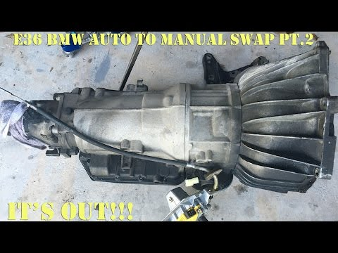 E36 BMW Auto to Manual Swap Pt.2