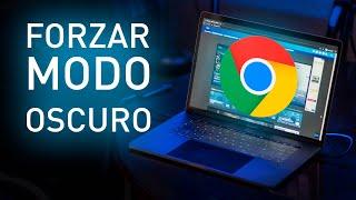 Cómo Forzar el MODO OSCURO de Chrome para CUALQUIER WEB