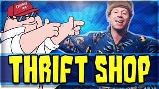 "MACKLEMORE ""THRIFT SHOP"" PARODY (FAMILY GUY) - Call of Duty: Black Ops 2 Song"