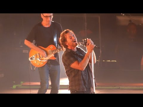 Pearl Jam live in Prague @ O2 Arena 01.07.2018 Praha