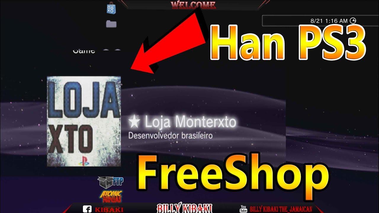 Loja Monterxto FreeShop ( PS3 Han ) by billy kibaki __ the jamaican