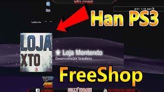 Loja Monterxto FreeShop ( PS3 Han )