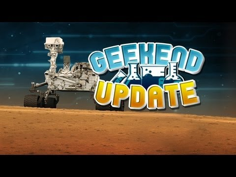 REUSEABLE ROCKETS, 3D PRINTED IMPLANTS AND LIFE ON MARS (Geekend Update)