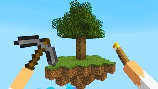 Minecraft Skyblock In Virtual Reality Is Terrifying