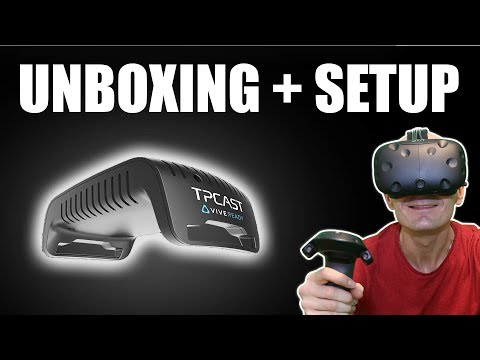 TPCAST UNBOXING, INSTALLATION TUTORIAL, FIRST TEST AND IMPRESSIONS | WIRELESS VR