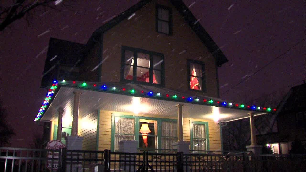 a christmas story house snow youtube - Christmas Story House