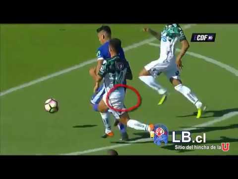 Goles U de Chile - Santiago Wanderers - Torneo de Clausura 2016-2017.