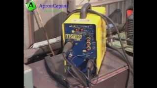 Аргонная сварка алюминия, чугуна, нержавейки/argon welding(Аргонно-дуговой сваркой называют электродуговую сварку, которая производится с использованием аргона...., 2013-12-29T19:29:48.000Z)