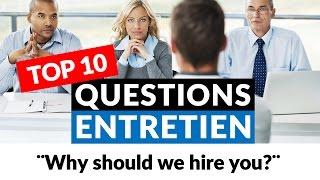 Entretien d'embauche en anglais : les 10 questions les plus posées !