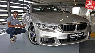 INSIDE the NEW BMW M550d xDrive 2017 | Interior Exterior DETAILS w/ REVS