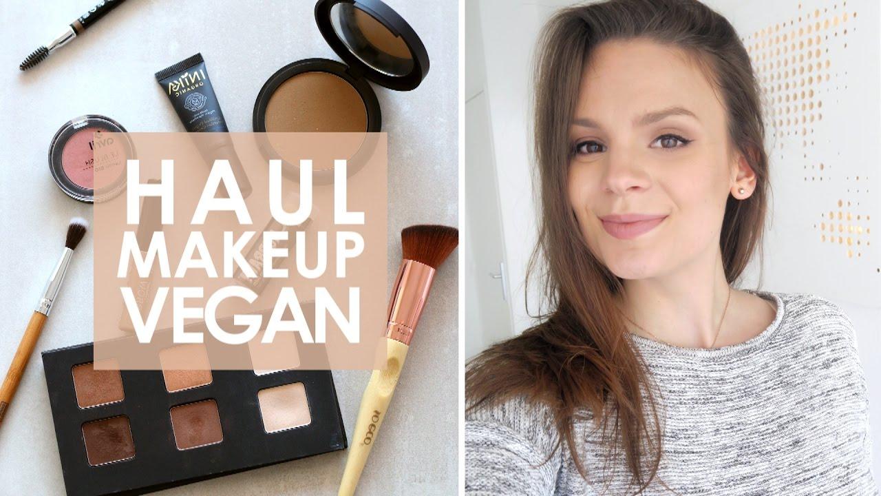 haul makeup vegan bio et non test sur les animaux youtube. Black Bedroom Furniture Sets. Home Design Ideas