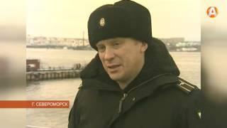 Первого жареного поросёнка вручили экипажу нового корабля «Юрий Иванов»