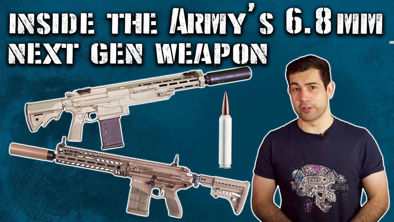 Inside the Army's NEW 6.8mm Next Gen Squad Weapon