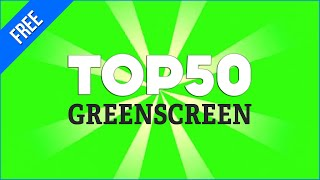Top 50 GreenScreen Brasil / Green Screen - Chroma Key