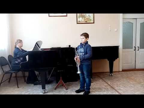 "А.Рубинштейн ""Мелодия"", Т.Чудова «Ехал казак за Дунай» исполняет Костюхин Тимофей"