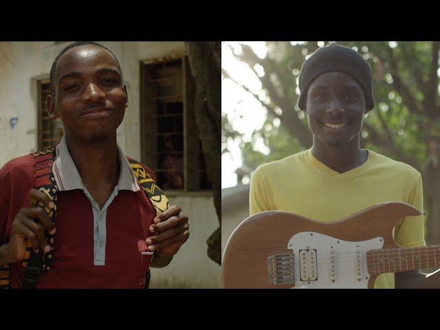 Twins in Tanzania Are Overcoming Poverty by Making Guitars and Shoes - Compassion International