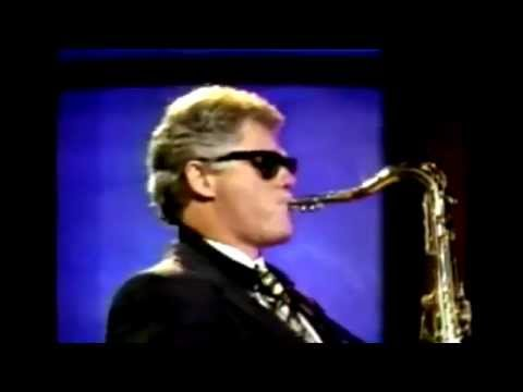10 minutes of Bill Clinton Playing M83