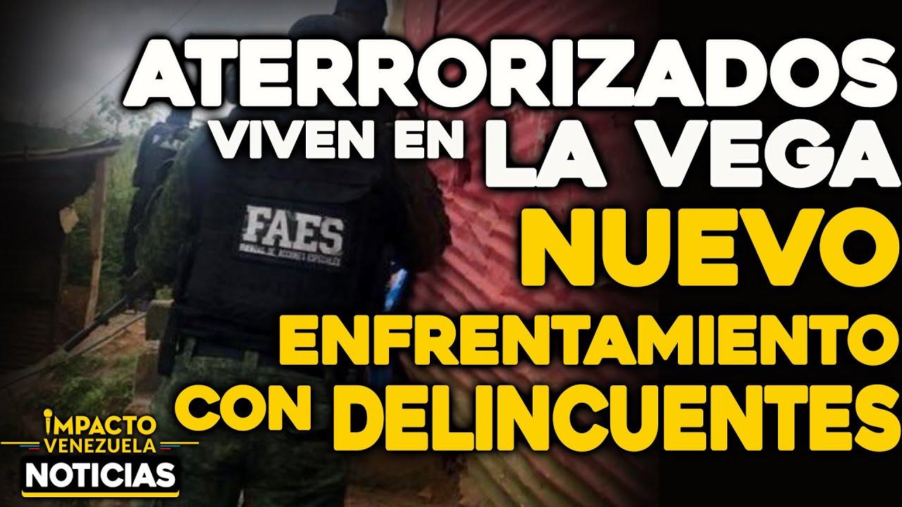 ¡ATERRORIZADOS viven en La Vega! Nuevo enfrentamiento con delincuentes | 🔴  NOTICIAS VENEZUELA HOY