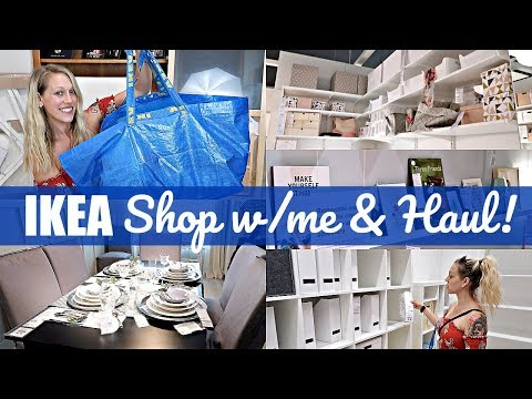 🛍 IKEA HAUL AND SHOP WITH ME! || IKEA Shopping Vlog || Summer 2018 || Alyssa All Day