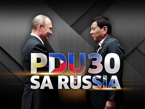 SONA: Pres. Duterte at Russian Pres. Vladimir Putin, nagkaroon ng expanded bilateral meeting