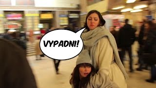Lýdia zasahuje na Hlavnej stanici