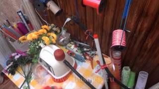 Парим искусственные цветы (пароочиститель)(, 2012-04-19T21:56:09.000Z)