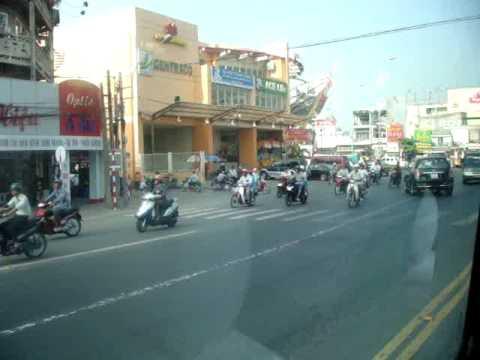 Bus ride from Ca Mau to Saigon
