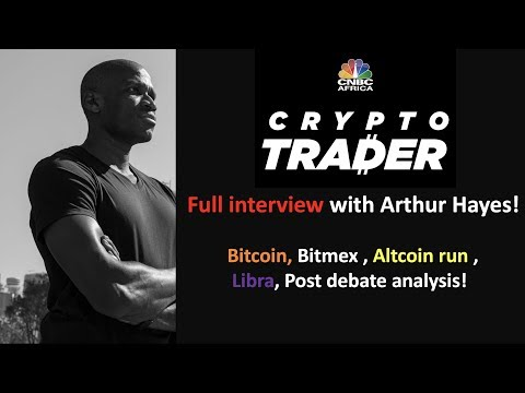 Arthur Hayes from BitMex discusses the company's future direction