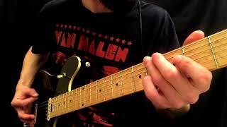 "How To Play The ""Amsterdam"" Chorus Riff   Van Halen"