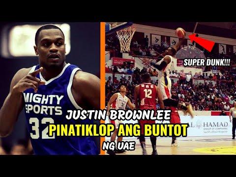 Justin Brownlee PINATIKLOP ANG BUNTOT ng UAE