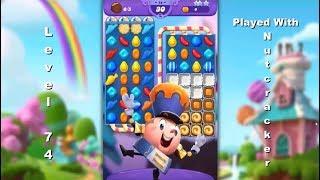Latest Candy Crush Saga Game: Candy Crush Friends Saga Level 74   |   2-Star ⭐⭐