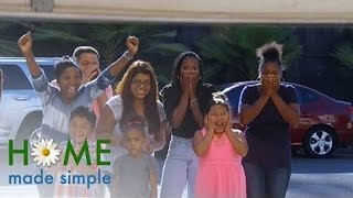 Garage Into Family Room Before-and-after | Home Made Simple | Oprah Winfrey Network