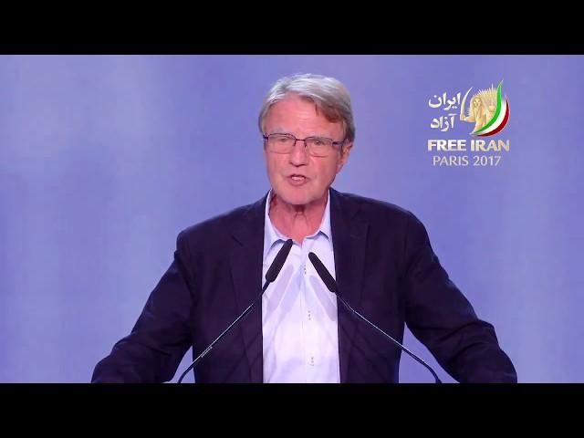 Iranian Grand Gathering 2017 -Bernard Kouchner