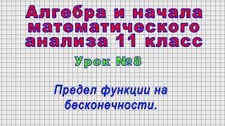 Алгебра 11 класс (Урок№8 - Предел функции на бесконечности.)