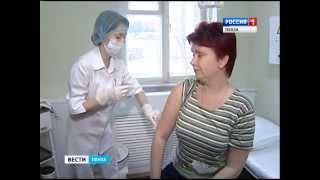 Прививку от гриппа сделали около 40% жителей Пензенской области