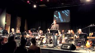 Matyas sings Man On The Rocks by Mike Oldfield - Tubular Bells Live at Colchester Institute