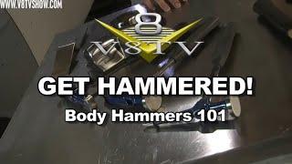 Dent Fixing:  Body Hammers 101 Video V8TV