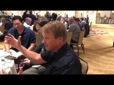 Jon Gruden Oakland Raiders Head Coach Interview At NFL Annual Meeting 2018 Vlog 1
