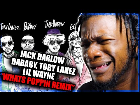 Jack Harlow – WHATS POPPIN (feat. DaBaby, Tory Lanez & Lil Wayne) [Official Visualizer] REACTION